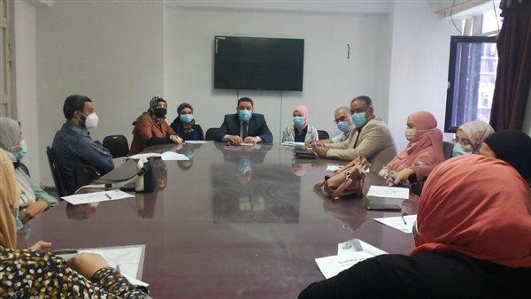 وكيل «صحة المنوفية» يترأس اجتماع منسقى لجنة الزمالة المصرية للمستشفيات
