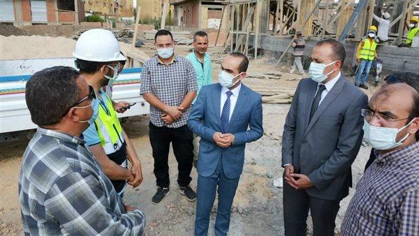 نائب محافظ سوهاج يتفقد مشروعات «حياة كريمة» بالمراغة