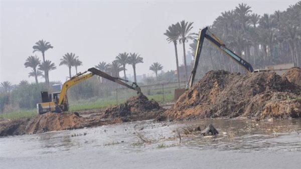 إزالة 207 حالات تعدٍ على المجاري المائية في 9 محافظات