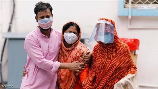 الهند تسجيل 13 ألفا و596 حالة إصابة جديدة بفيروس كورونا
