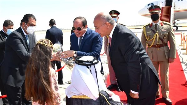 الرئيس السيسي في «قمة بغداد»: حريصون على تعزيز العلاقات نحو آفاق أرحب
