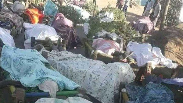 نهر سيتيت يقذف جثث ضحايا التيجراى إلى السودان