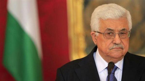 الرئيس الفلسطينى يثمن الدور المصرى فى حل القضية الفلسطينية