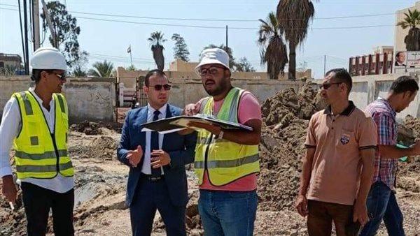 نائب محافظ دمياط يتابع سير العمل بمشروعات «حياة كريمة»