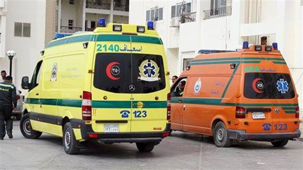 إصابة 8 أشخاص من أسرة واحدة فى حادث مرورى بكفر الشيخ