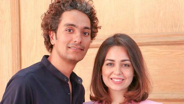 جمهور هبة مجدي ومحمد محسن يحتفل بمولودهما الثاني: بورك لكما في الموهوب