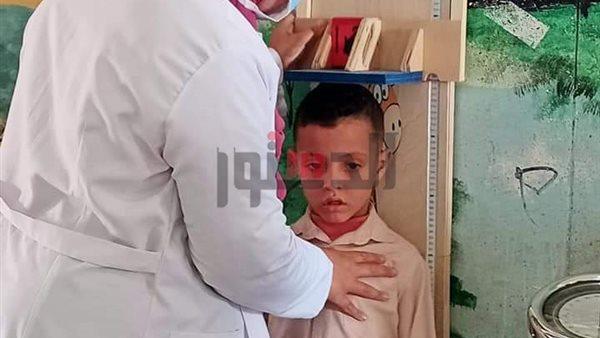 «صحة كفر الشيخ»: فحص طلاب المدارس لاكتشاف أمراض سوء التغذية